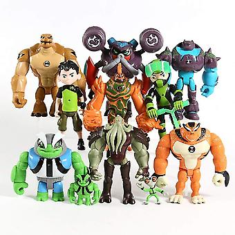 Ben 10 Mini Durable & Easy to Play Figures Party Pack for Ages 3+