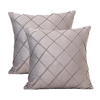 Designer Velvet Housses d'oreiller souples