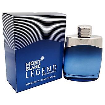 Mont Blanc Legend Special Edition 2014 by Monc Blanc for Men 3.3oz  Eau De Toilette Spray