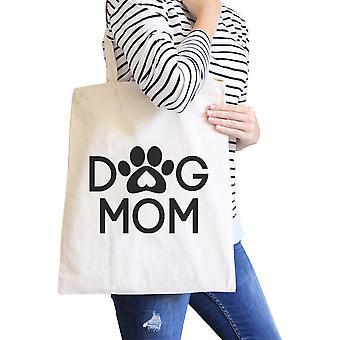 Pies Mama naturalne płótno Ładna torba na ramię ładny Design dla właścicieli psów