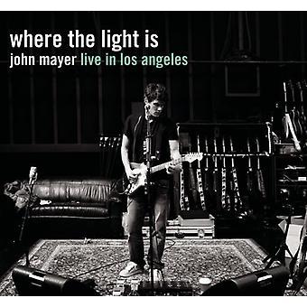 John Mayer - Where the Light Is: John Mayer Live in Los Angeles [CD] USA Import