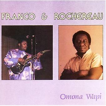 Franco & Rochereau - Omona Wapi [CD] USA import