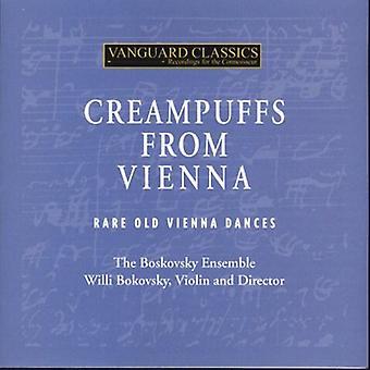 Strauss/Schubert/Beethoven/Haydn - Creampuffs From Vienna: Rare Old Vienna Dances [CD] USA import