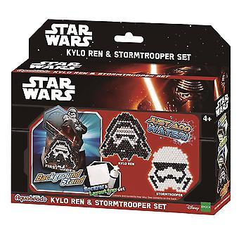 Aquabeads Star Wars Kylo Ren y conjunto de Stromtrooper