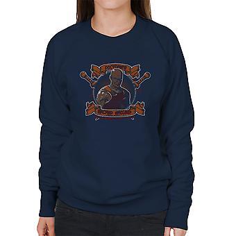 Doctores Sacred Ground Fighting Academy Spartacus Women's Sweatshirt