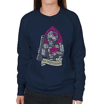 Pax Per Tyrannis Transformers Women's Sweatshirt