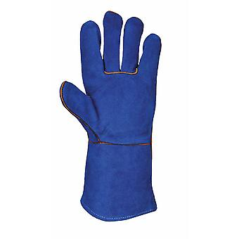 Portwest - Welders Tough Leather Gauntlet Glove (1 Pair Pack)