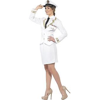 Las mujeres Trajes Vestido de la señora del capitán