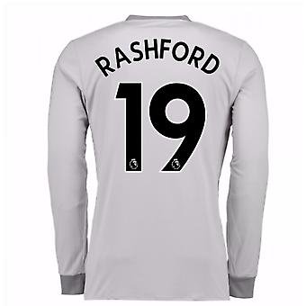 2017-2018 man United derde Shirt met lange mouwen (Rashford 19)