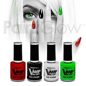 Paintglow Vamp Me UP! Nail Polish - 4 Colours available
