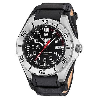 KHS watches mens watch steel KHS country leader. LANS. R