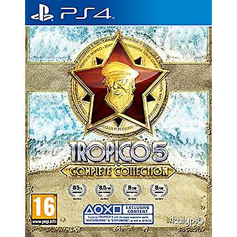 Tropico 5 - Complete Collection (PS4) - New
