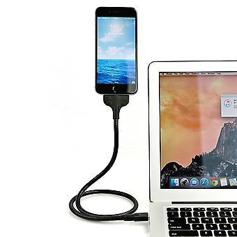 Overalt montere Metal Shell USB ladekabel 50cm - iPhone