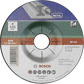 Bosch-lisä varusteet 2609256337 A 24 P BF-hionta levy (off-Set) 125 mm 22,23 mm 1 kpl