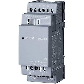 Siemens LOGO typ! DM8 230R 0BA2 PLC tilläggs modul 115 V AC, 115 V DC, 230 V AC, 230 V DC