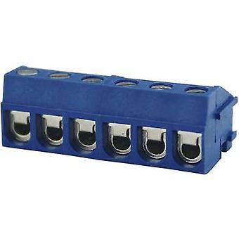 Degson DG332K-5.0-02P-12-00AH Screw terminal 2 mm² Number of pins 2 Blue 1 pc(s)