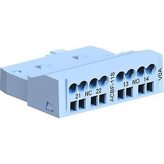 WEG ACBF-11S Auxiliary switch 2.5 A 1 maker, 1 breaker 1 pc(s)