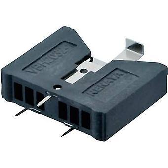 Renata 700759 Button cell holder 1x CR2032 Horizontal, Through-hole (L x W x H) 24 x 23 x 6 mm