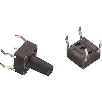 Würth Elektronik WS-TSS 430186043716 painike 12 V DC 0,05 A 1 x pois/(päällä) hetkellinen 1 kpl (s)