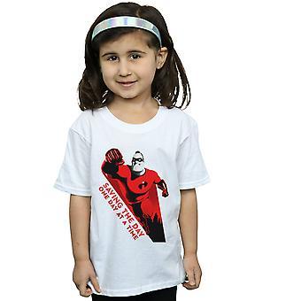 Disney Girls Incredibles záchrana dne T-tričko