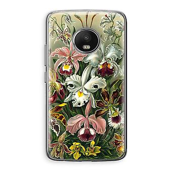 Motorola Moto G5 boîtier Transparent (doux) - Haeckel Orchidae