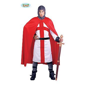 Costume chevalier croisade pour croisé de carnaval Carnaval hommes Monsieur costume de conte de fées médiéval