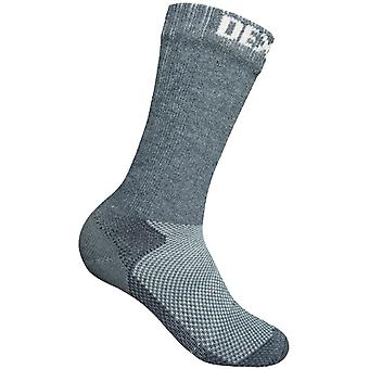 DexShell Mens Waterproof Terrain Breathable CoolMax Outdoor Sports Socks - Grey