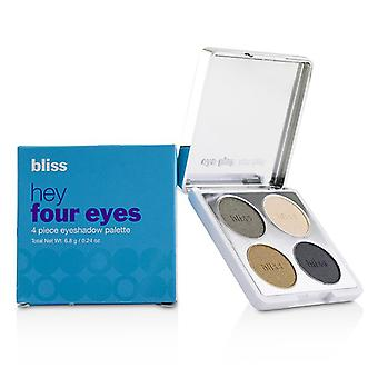 Bliss Hey Four Eyes 4 Piece Eyeshadow Palette - # Sage - 6.8g/0.24oz