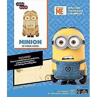 Incredibuilds undersåtter 3D tre modell Kit Minion Kits