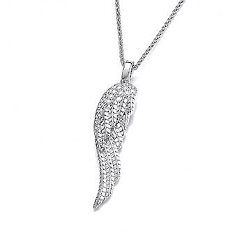 Cavendish French Silver Angel Wing Pendant without Chain