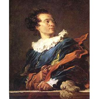Retrato do Abbe de Saint-Non, Jean Honore Fragonard