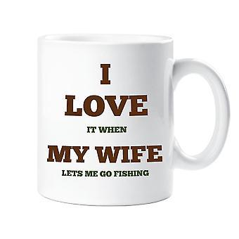 אני אוהב את הספל של אשתי לדיג