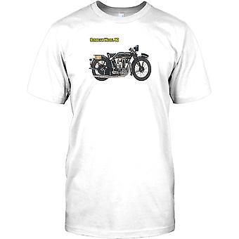 Sonnenstrahl-Modell 90 - klassische britische Motorrad Kinder T Shirt