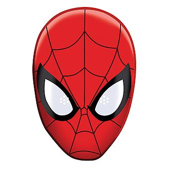 Spider-Man Party Card Fancy Dress Mask (Single)