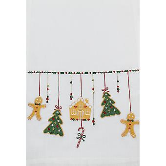 Peggy Wilkins Gingerbread Designed Christmas Runner | Gifts from Handpicked