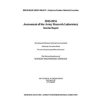 2015-2016 oceny Army Research Laboratory: sprawozdanie okresowe