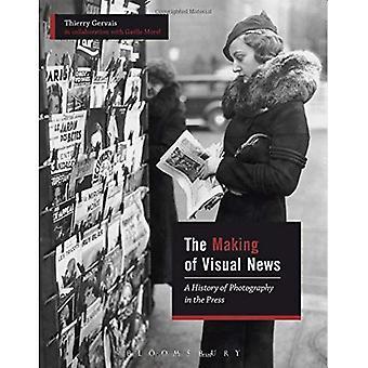 La fabrication de nouvelles visuels: une histoire de la photographie dans la presse