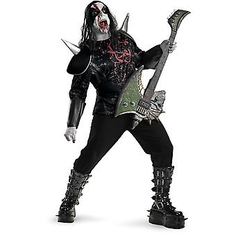 Adulto de Heavy Metal más traje