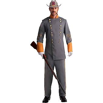 Officer Confederate Adult Costume