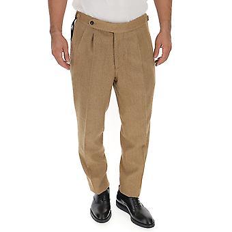 The Gigi Ciakj036300 Men's Beige Cotton Pants