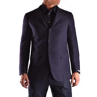 Ballantyne Ezbc099001 Men's Blue Wool Blazer