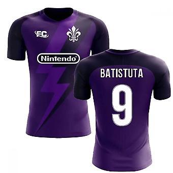 2020-2021 Fiorentina Fans Kultur Home Concept Shirt (Batistuta 9)