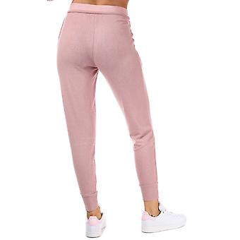 Womens Tokyo Laundry Papera Brushed Jersey Cuffed Jog Pants In Dusky Pink