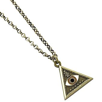 Fantastic Beasts and Where to Find Them Triangle Eye Necklace