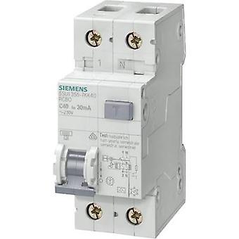 Siemens 5SU1356-7KK10 RCBO 2 pôles 10 A 0,03 A 230 V