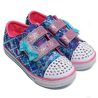 Twinkle Toes by Sketchers Twinkle Toes Chit Chat Lil Chatty Sneakers