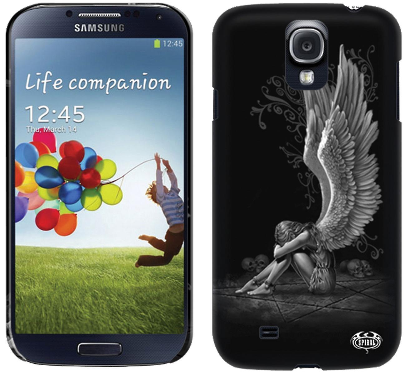 Spiral Direct Gothic ENSLAVED ANGEL - Phone Cases Samsung|Angel|Pentagram|Skulls
