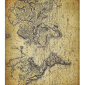 Craft Consortium World Map 2 Decoupage Papers