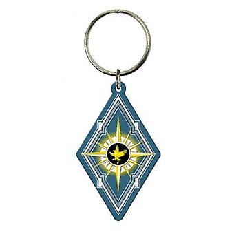 PVC Key Chain - Fantastic Beast - Diamond Shape Soft Touch New Toys 48177