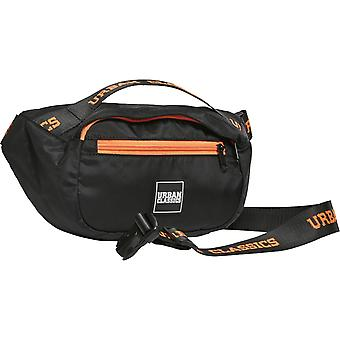 Urban Classics - BASIC shoulder bag black / orange